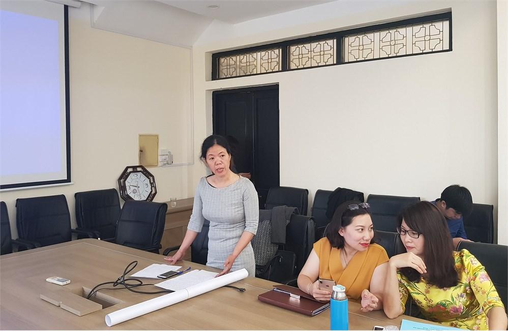 Hội thi giảng viên, giáo viên giỏi nghiệp vụ sư phạm cấp Khoa năm học 2018 - 2019