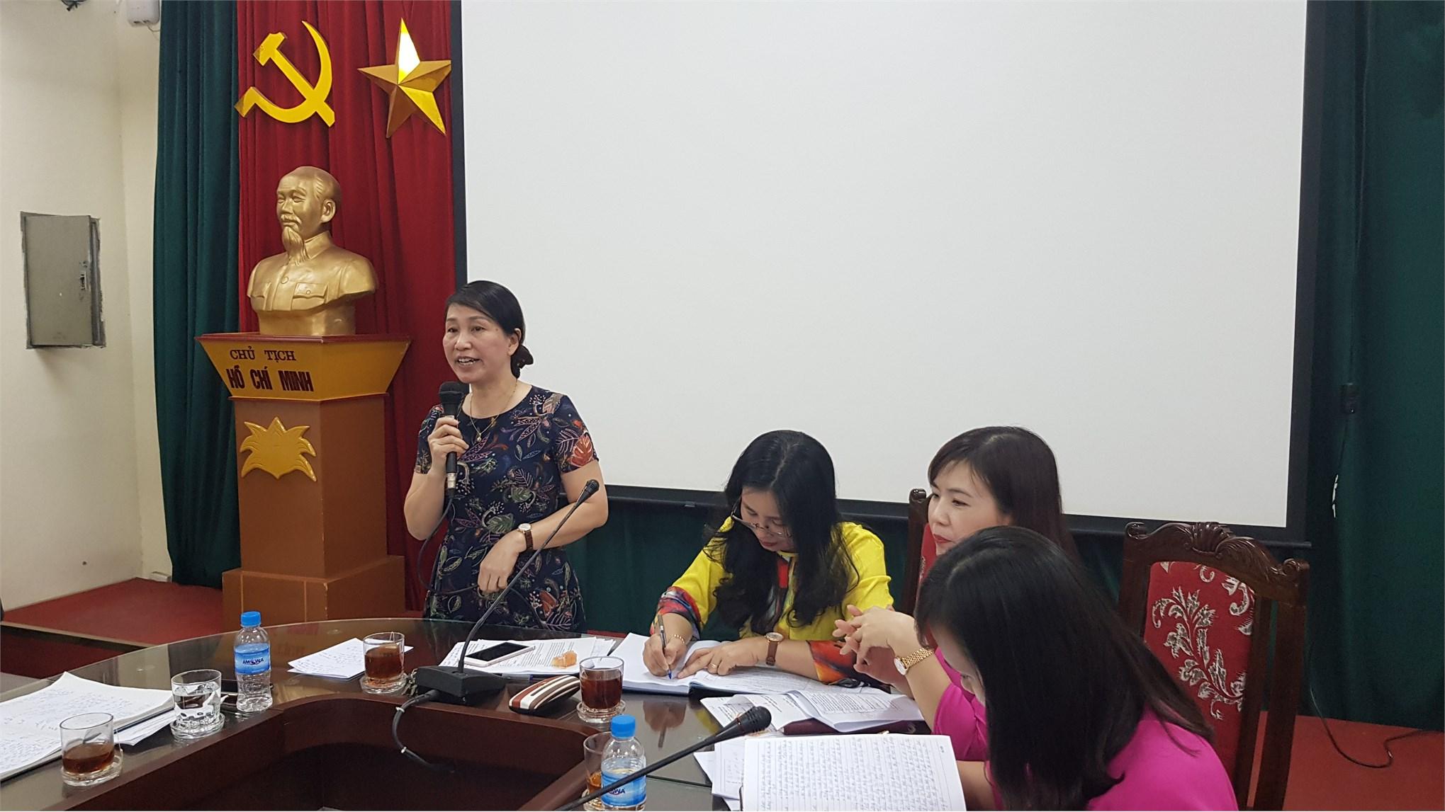 Hội nghị cán bộ CCVC Tổng kết năm học 2018-2019 và triển khai nhiệm vụ năm học 2019-2020