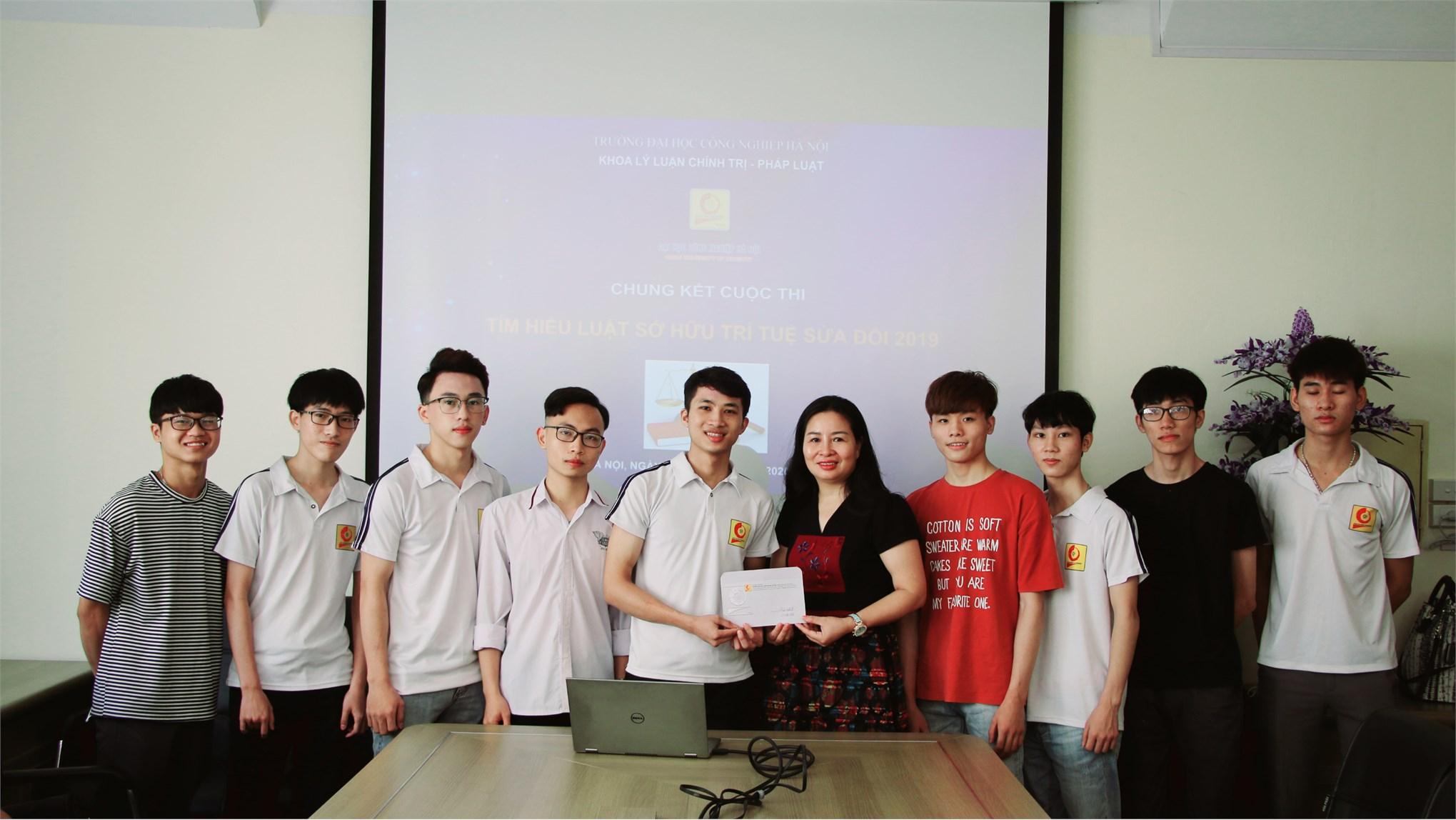 Chung kết và trao giải cuộc thi tuyên truyền giáo dục pháp luật - `Luật sở hữu trí tuệ`