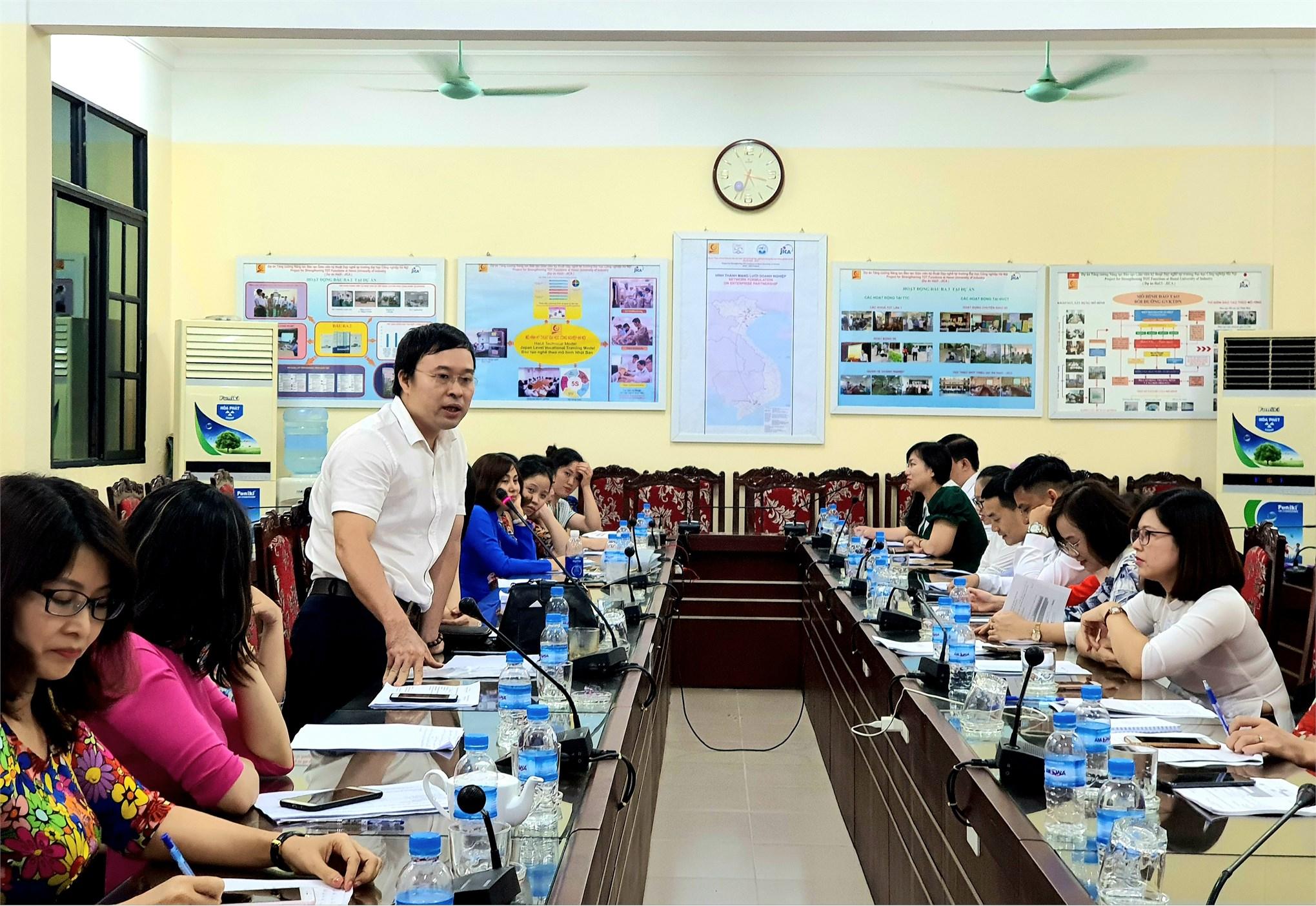 Hội nghị viên chức, người lao động, tổng kết năm học 2019-2020 và triển khai nhiệm vụ năm học 2020-2021