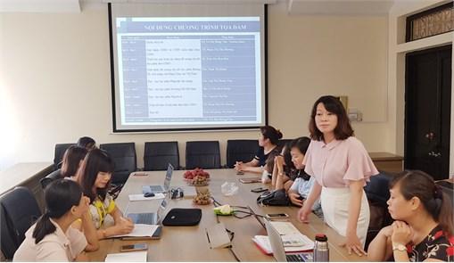 Toạ đàm về đổi mới giảng dạy các môn Lý luận chính trị, pháp luật theo chuẩn CDIO