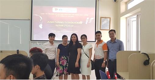 """600 sinh viên tham gia vòng sơ khảo Cuộc thi """"Ánh sáng soi đường"""" Trường Đại học Công nghiệp Hà Nội 2018"""