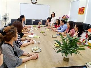 Hội giảng và tổng kết đợt thực tập của sinh viên Học viện Báo chí và Tuyên truyền tại Khoa Lý luận Chính trị - Pháp luật