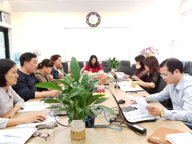 Nghiệm thu cấp Khoa Lý luận Chính trị - Pháp luật chương trình dạy học kết hợp học phần Kinh tế chính trị Mác - Lênin