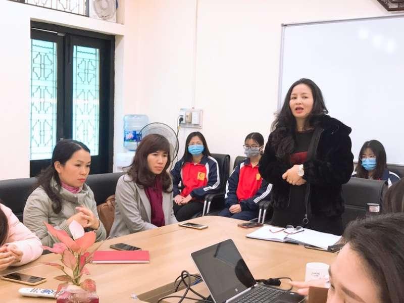 Khoa Lý luận Chính trị - Pháp luật tổ chức sơ kết công tác dạy học theo hình thức kết hợp học phần Tư tưởng Hồ Chí Minh